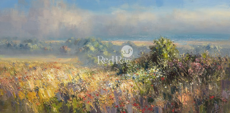 Rex PRESTON - Clearing Mist, North Norfolk Coast
