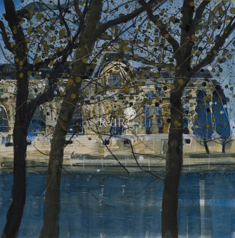 Susan BROWN - Musee D'Orsay, Autumn, Paris