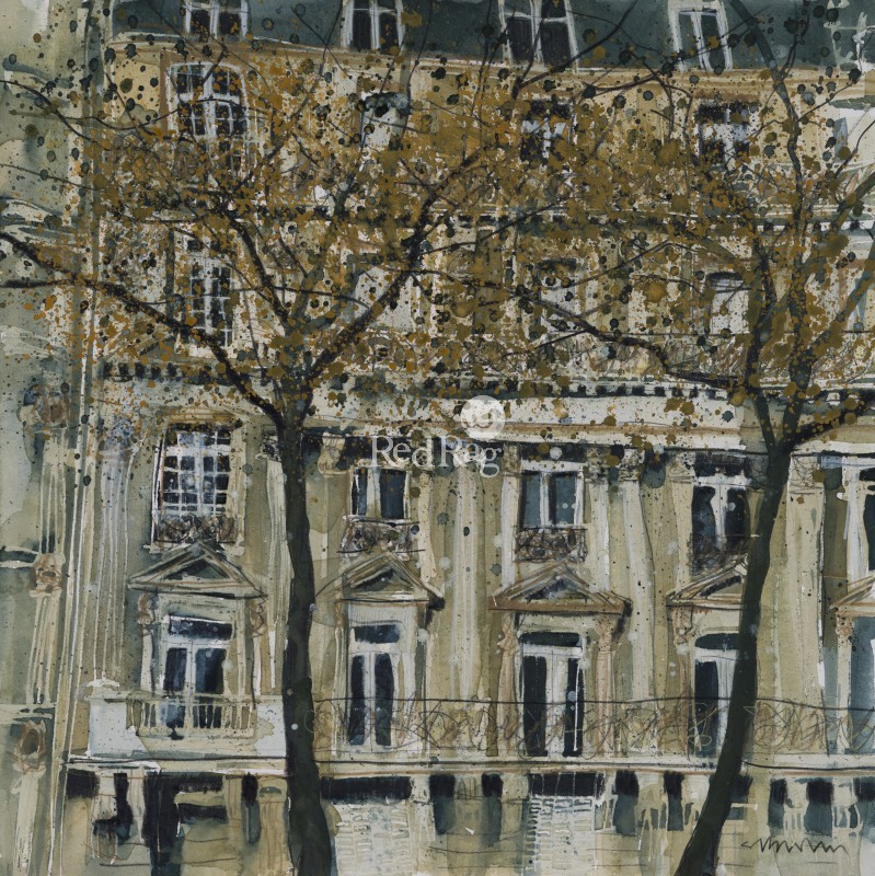Susan BROWN - City Landscape, Paris
