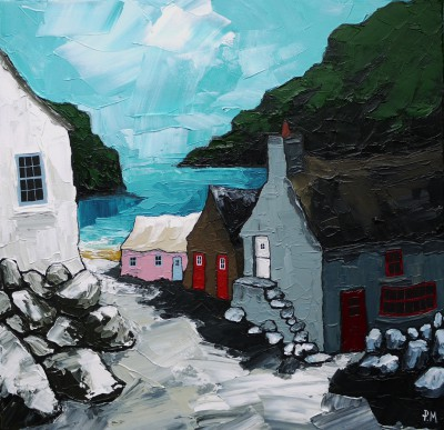 Down To Nolton Haven painting by artist Peter MORGAN