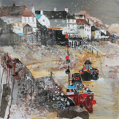 Limited Edition Prints Artist Nagib Karsan - Dittisham, Devon