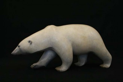 Sculpture and Sculptors Artist Adam BINDER - Arctic Stroll (Polar Bear) (Edition 6/12)