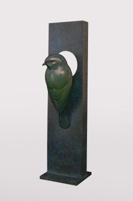 Sculpture and Sculptors Artist Adam BINDER - Blue Tit (Edition 3/24)
