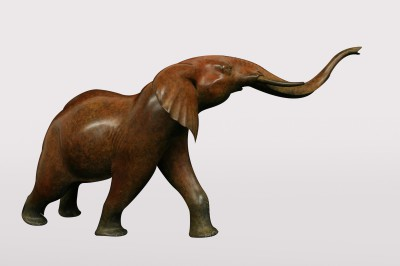Sculpture and Sculptors Artist Adam BINDER - Elephant (Edition 1/12)