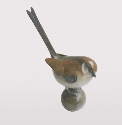 Sculpture and Sculptors Artist Adam BINDER - Long Tailed Tit (Ball)