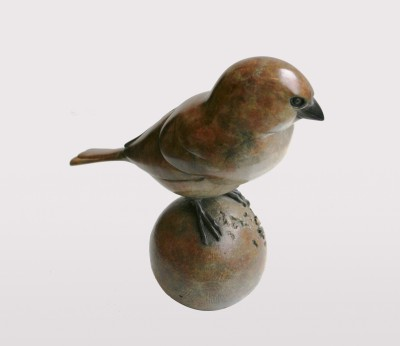 Sculpture and Sculptors Artist Adam BINDER - Sparrow (Edition 1/24)