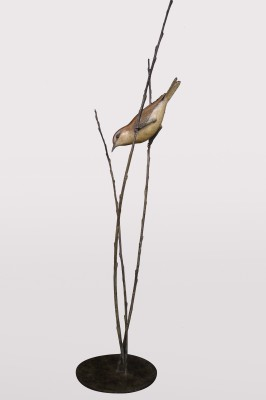 Sculpture and Sculptors Artist Adam BINDER - Willow Warbler