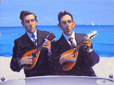 British Artist Alan KINGSBURY - Duet