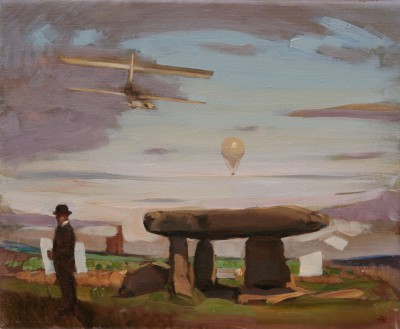 British Artist Alan KINGSBURY - Lanyon Quoit