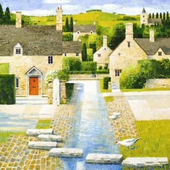 British Artist Alan Parry - The Crossing
