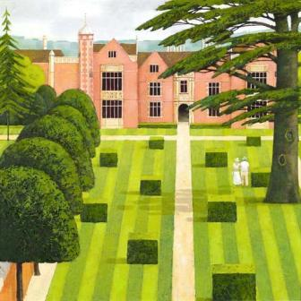 British Artist Alan Parry - The Manor