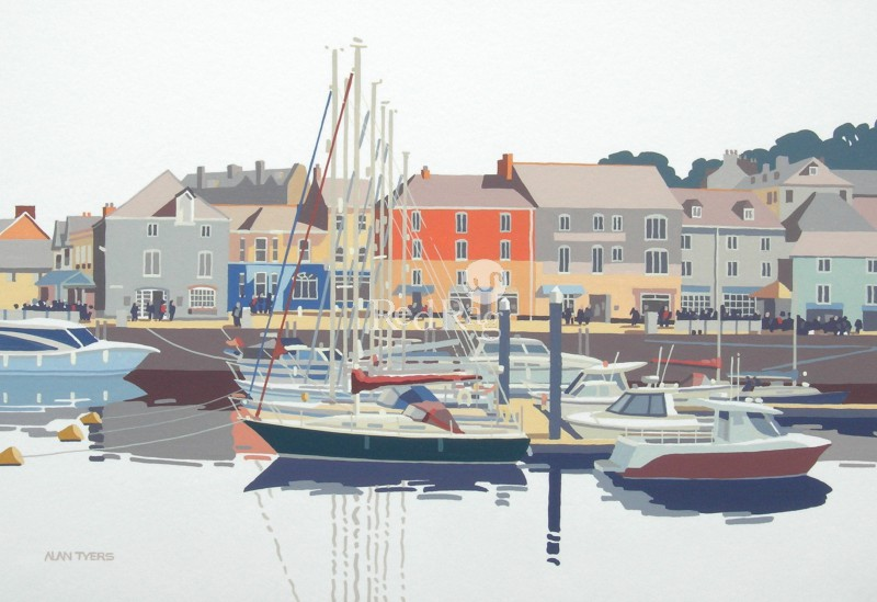 Alan TYERS - Seven Masts, Padstow Harbour