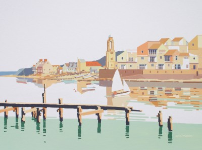 British Artist Alan TYERS - Swanage, Dorset