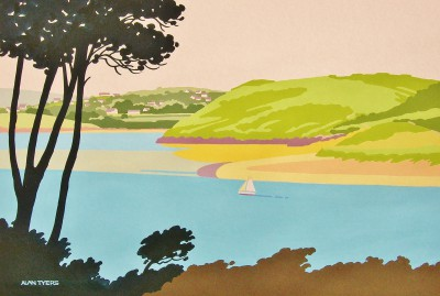Alan TYERS - Daymer Bay and Camel Estuary, Padstow