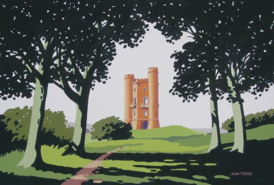 Alan TYERS - Broadway Tower, the Cotswolds