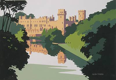 Alan TYERS - River Avon and Warwick Castle