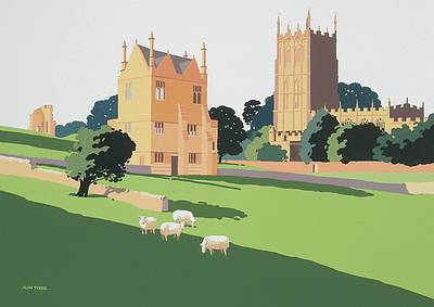 British Artist Alan TYERS - Chipping Campden, the Cotswolds