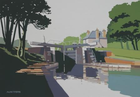 Alan TYERS - Hatton Bottom Lock, Grand Union Canal