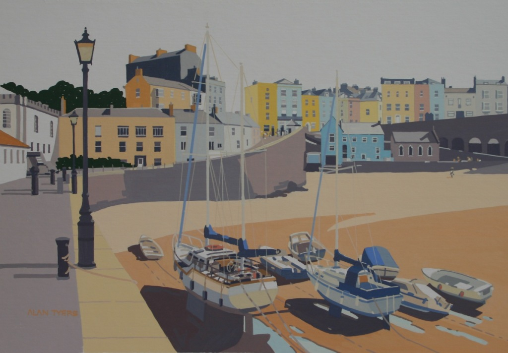 Alan TYERS - Awaiting High Tide, Tenby