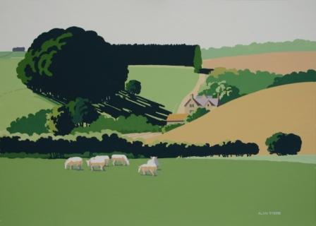 Alan TYERS - Bourton Downs, The Cotswolds