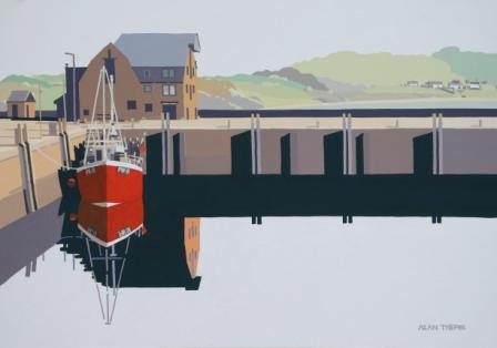 Alan TYERS - Red Boat Padstow Harbour