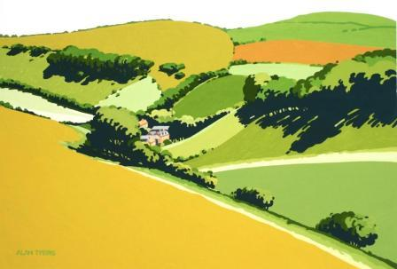 Alan TYERS - The South Downs