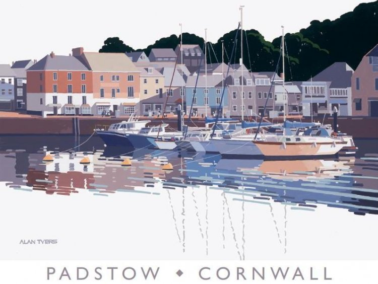 Alan Tyers - Padstow Harbour