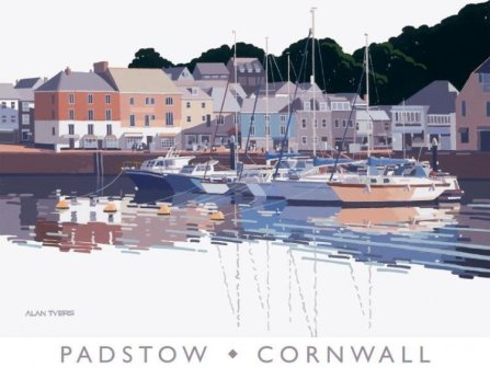 Limited Edition Prints Artist Alan Tyers - Padstow Harbour