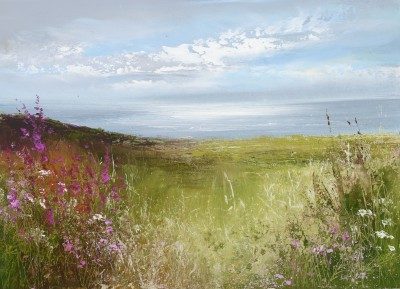 Amanda HOSKIN - Wild Flowers and Dazzling Light, Fowey