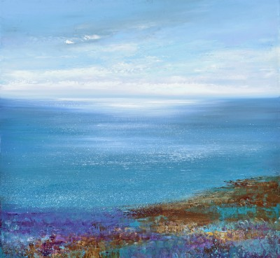 British Artist Amanda HOSKIN - Atlantic Light, Cornwall