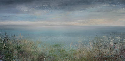 British Artist Amanda HOSKIN - Soft Evening Light