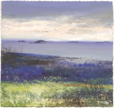 British Artist Amanda HOSKIN - Morning Sky over the Islands, Tresco