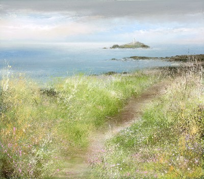 Amanda HOSKIN - Sea Pinks at Godrevy