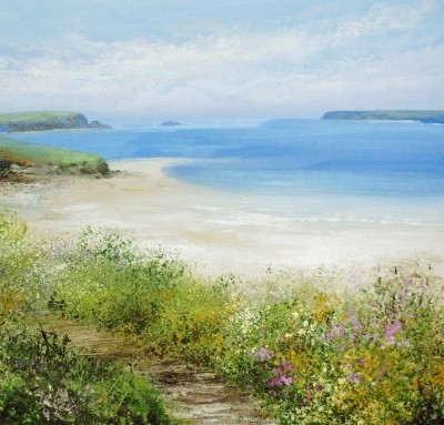 Amanda HOSKIN - Summer's Walk at Padstow