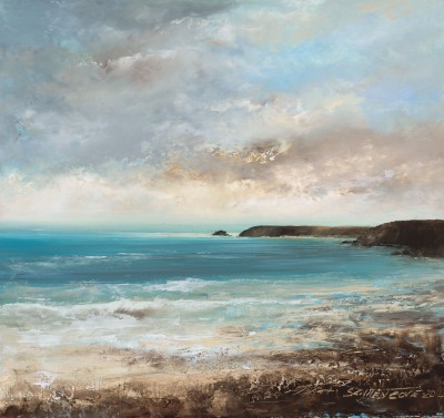 Amanda HOSKIN - Beautiful Evening at Sennen, Cornwall