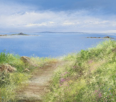 Amanda HOSKIN - Summer Path , Scillies
