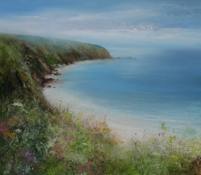 Amanda HOSKIN - Walking the Coastal Path to Fowey
