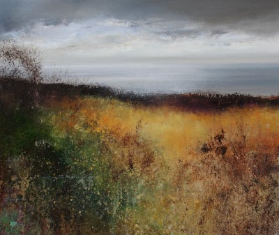 Amanda HOSKIN - Light fills the Bay on the Coastal Path