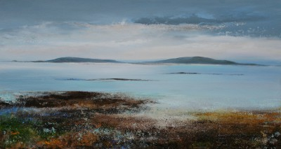 Amanda HOSKIN - Peaceful Evening Settles over the Islands, Scillies
