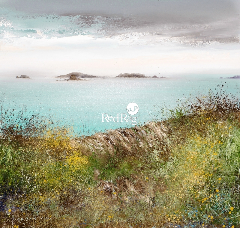 Amanda HOSKIN - Evening Sky over the Eastern Isles, Scillies