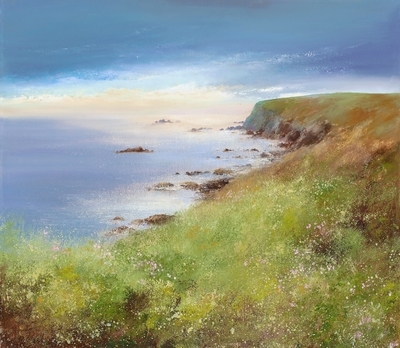 Amanda HOSKIN - Dramatic Sky at the Lizard