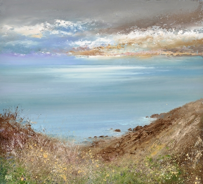 Amanda HOSKIN - Dramatic Evening Sky near The Lizard