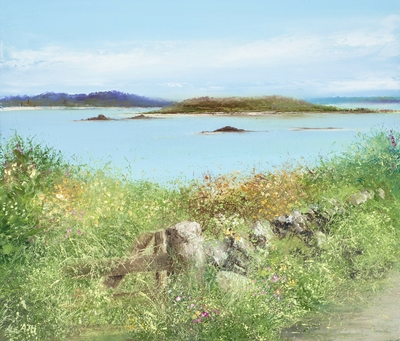 Amanda HOSKIN - Afternoon Walk, Bryher, Scillies