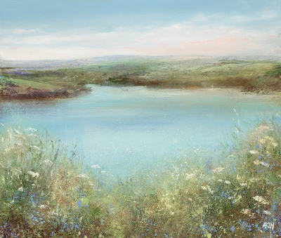 Amanda HOSKIN - Bluebells and Cow Parsley