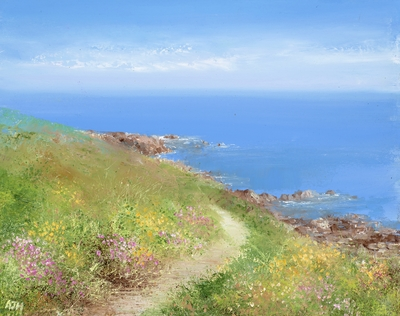 Amanda HOSKIN - Coastal Path from Lamorna Cove