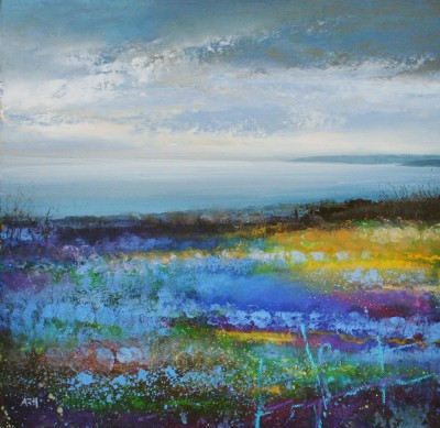 Amanda HOSKIN - Looking from Nare Head, Cornwall