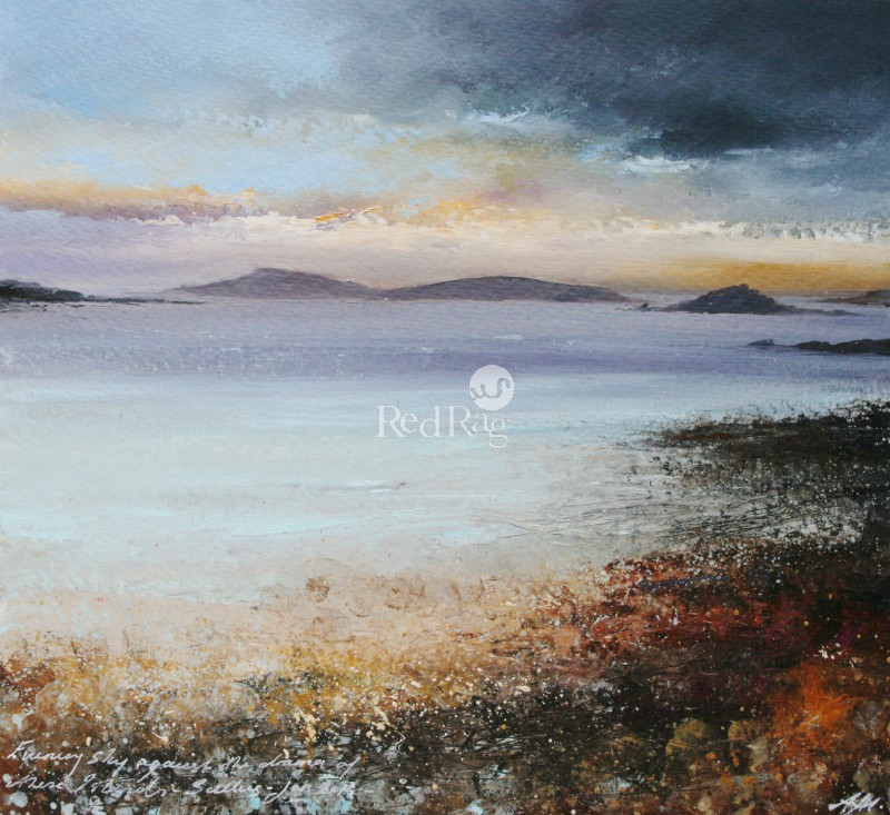 Amanda HOSKIN - Evening Sky Drama, Scillies