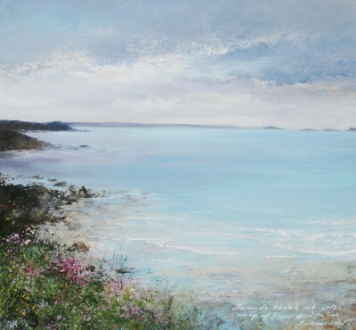 British Artist Amanda HOSKIN - Islands Stretch Out, Tresco