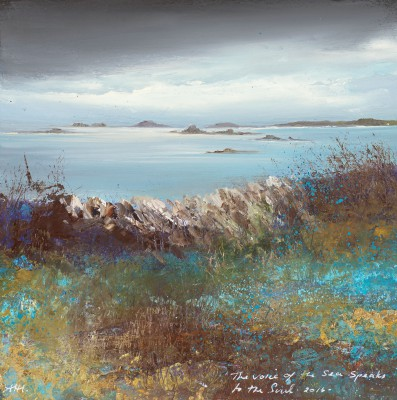 Amanda HOSKIN, contemporary artist - The Voice of the Sea speaks to the Soul of the Sea