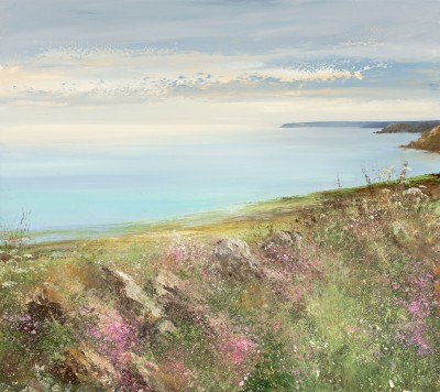 Amanda HOSKIN, contemporary artist - Moments of Peace, Cornwall
